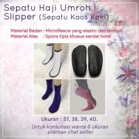 Sepatu Haji Umroh Slipper (Sepatu Kaos Kaki)