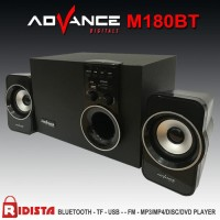 Speaker Aktif Advance M180BT BLUETOOTH + FM RADIO