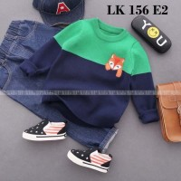 LK 156 E2 - Setelan Sweater Anak - Jeans Sets Import - Model Korea