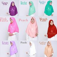 Size M & L Khimar Kaos Bergo Berri Hijab Alsa Jilbab Santai Adem