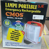 Emergency Lamp Type HK6L / HK 6 LED CMOS