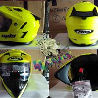 MDS SuperPro yellow flou - double visor