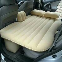 KASUR BED MATRAS TEMPAT TIDUR MOBIL AIR BED PLUS BANTAL CREAM AB01