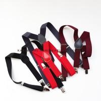 bretel anak / suspender anak - Merah
