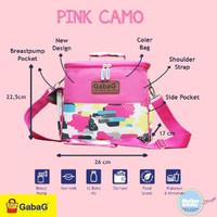 cooler bag tas asi gabag pink camo