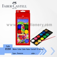 Water Color Cake Faber Castell 12 Warna