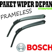 Paket Wiper NISSAN LIVINA SERIES - Bosch FRAMELESS 24/14