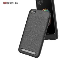Case Autofocus Xiaomi Redmi 5A Skin Leather Soft Backcase Casing