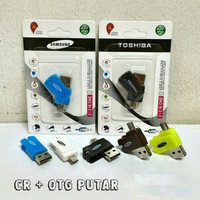 #BA015 - Card Reader OTG - MicroSD - SD OTG +Card Reader