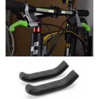Silikon Pelindung Handle Rem Tangan Sepeda 2PCS - Black