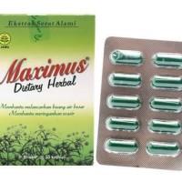 MAXIMUS DIETARY HERBAL 1 BOX ISI 30
