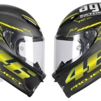 Cutting Sticker / Stiker Helm AGV Pista VR 46 Project Valentino Rossi