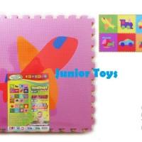 Mainan Karpet Puzzle Busa Gambar isi 8 pcs