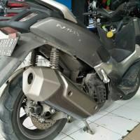 Variasi Cover Knalpot Motif New Motor Yamaha AEROX 155,N-MAX Termurah.