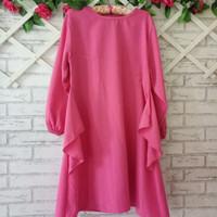 Blouse Tunic big size Murah XL/Big mini dress/atasan wanita Polos XL