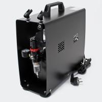 Silent Airbrush Compressor / Kompresor AS196A (dual cylinder / piston)