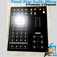 Panel Atas Audio Mixer 8 Potentio 4 Channel