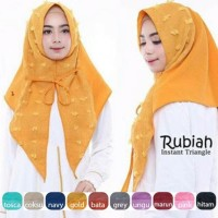 Hijab | Jilbab Instan Segi Tiga | Triangle Rubiah Obral..