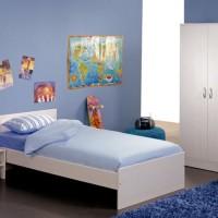Furniture Kamar Set Minimalis Tempat Tidur Dipan Anak Tingkat Susun