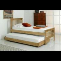 Furniture Kamar Set Tempat Tidur Dipan Anak Tingkat Susun 2 Minimalis