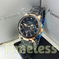 jam tangan wanita alexandre christie ac 2517 BF Black Rosegold