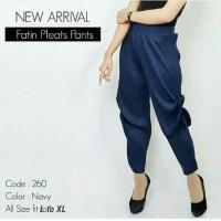 ALANIS PANTS (celana cubit plisket)