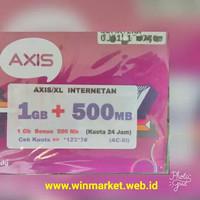 Kartu Perdana Axis 1.5 GB