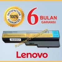 Baterai Laptop LENOVO IdeaPad V430 V450 Y430 - 6 CELL