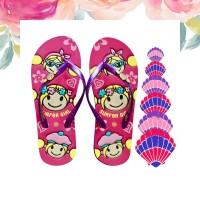 SENDAL SURFER GIRL ORIGINAL - HAPPY SUMMER PINK