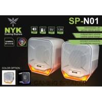 speaker gaming NYK SP-N01 speaker aktif PC Laptop NYK 3.5mm usb