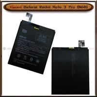 Baterai Xiaomi Redmi Note 3 Pro BM46 BM 46 Original Batre Batrai
