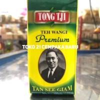 Tong Tji Teh Wangi Premium Tubruk 50 g  Melati Jasmine Tea Refill 50 g
