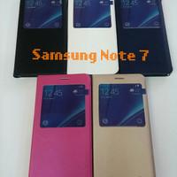 Samsung Galaxy Note 7 Sarung Flip Case Cover
