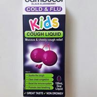 sambucol kids cold and flu cold cough liquid 120 ml obat batuk anak