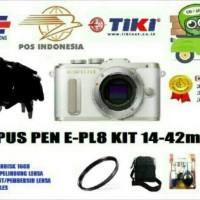kamera mirroles olympus PEN E-PL8 KIT 14-42mm (paketan lengkap)