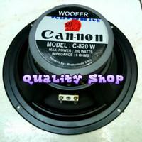 speaker woofer canon 8 inch 200 watt