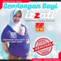 Gendongan Bayi Izzati Baby Wrap Kaos Modern Lilit Depan Anti Pegal