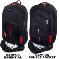 Bag & Stuff - 1 PCS CAMPUS LAPTOP RAINCOVER BACKPACK / 2 PILIHAN MODEL