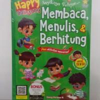 Buku Anak Happy Calistung Asyiknya Belajar Membaca Menulis & Berhitung