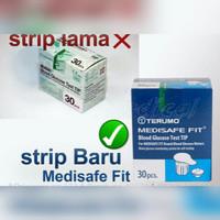 TERUMO Medisafe Strip Glucose/ Strip Gula Darah
