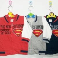 Jacket Anak Bayi / Sweater / Jaket Anak Laki-Laki Superman