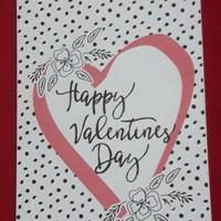 Kartu ucapan. Greeting card. Valentine card. Free coklat
