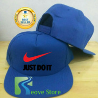 Topi Snapback Nike Just Do It 1 Trucker Baseball - Reove Store