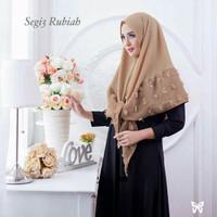 Jilbab Segi tiga rubiah instan mocca