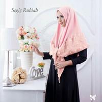 Jilbab Segi tiga rubiah instan ready