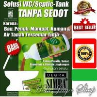 Degra Simba Solusi OK wc/septic tank mampet/penuh tanpa harus disedot