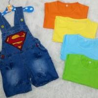 Baju anak laki laki / baju anak bayi / overall / superboy