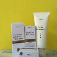 Paket Ertos Facial Treatment CC Cream Night Cream Serum Kinclong