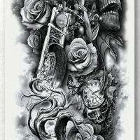 Tato/Tatto temporary/Tatto Temporer/ tatto design terbaru17x46 TQB001