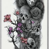 Tato/Tatto temporary/Tatto Temporer/ tatto design terbaru17x46 TQB007
